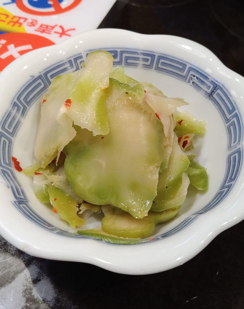 浅漬け搾菜 350円(税込)